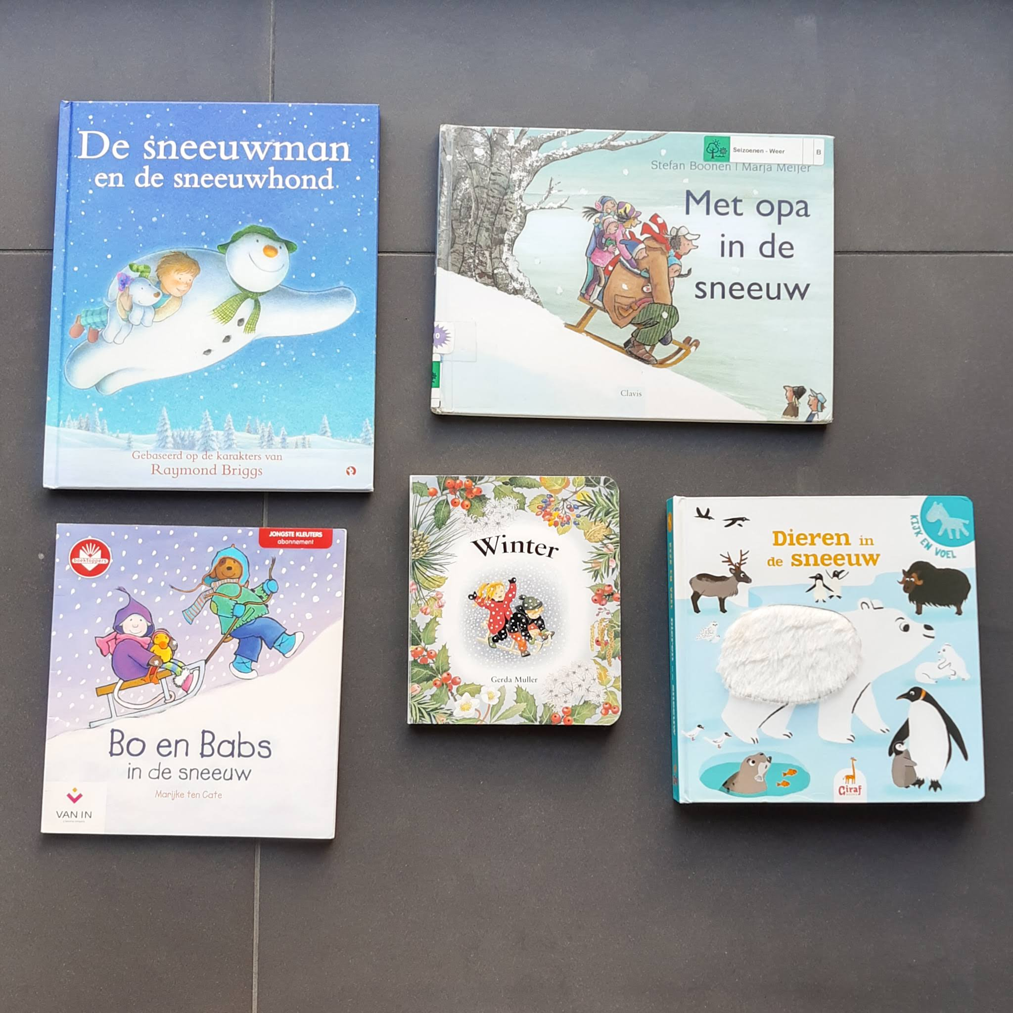 In ons boekenrek – winter