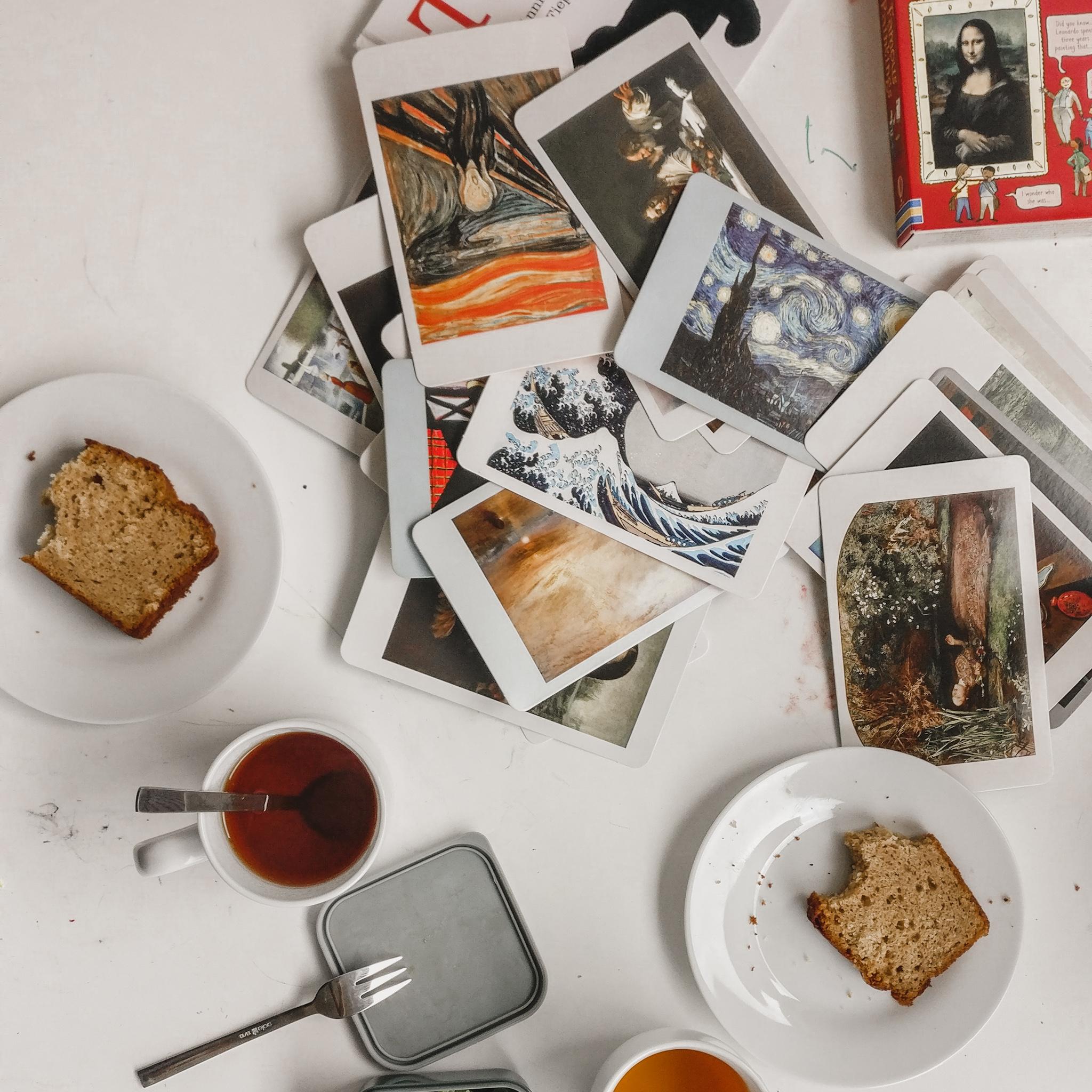 Ons ritme: 's morgens, tea time en 's avonds