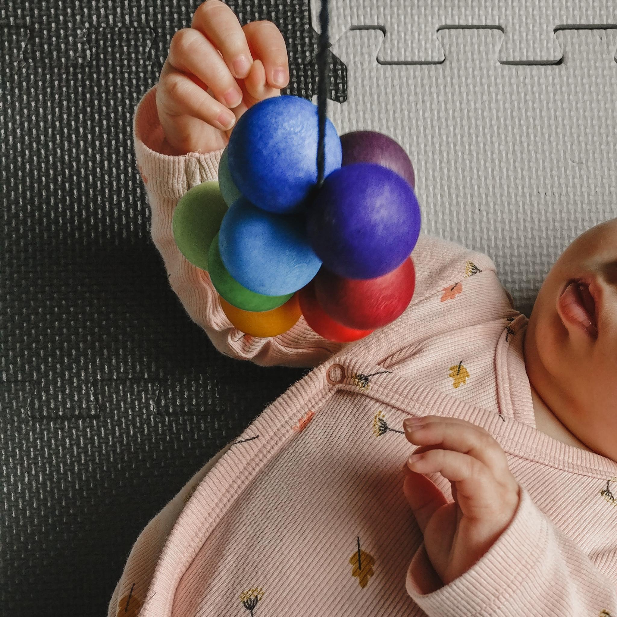 Speelgoed – baby week 18
