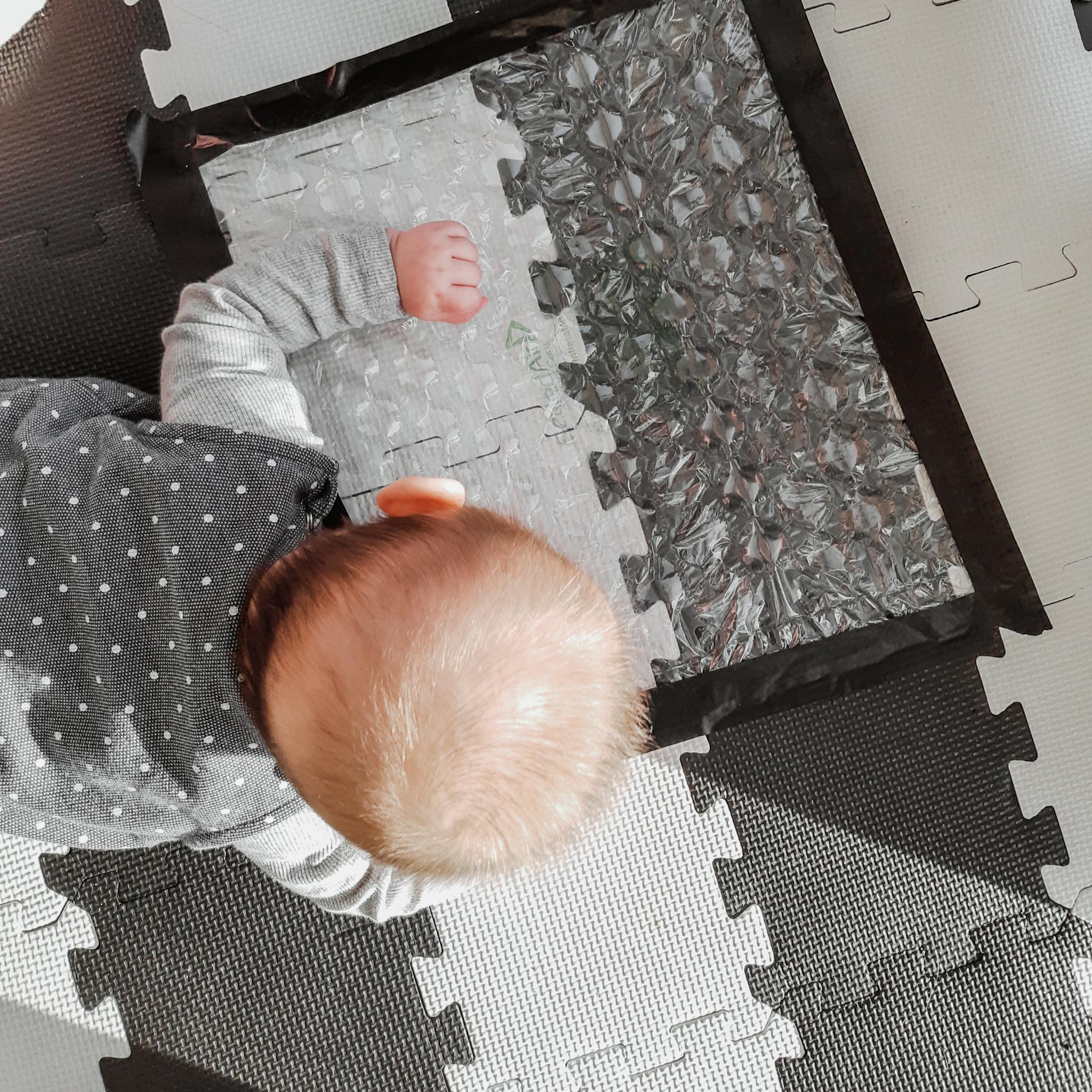 Simpele sensorische activiteit – baby week 20