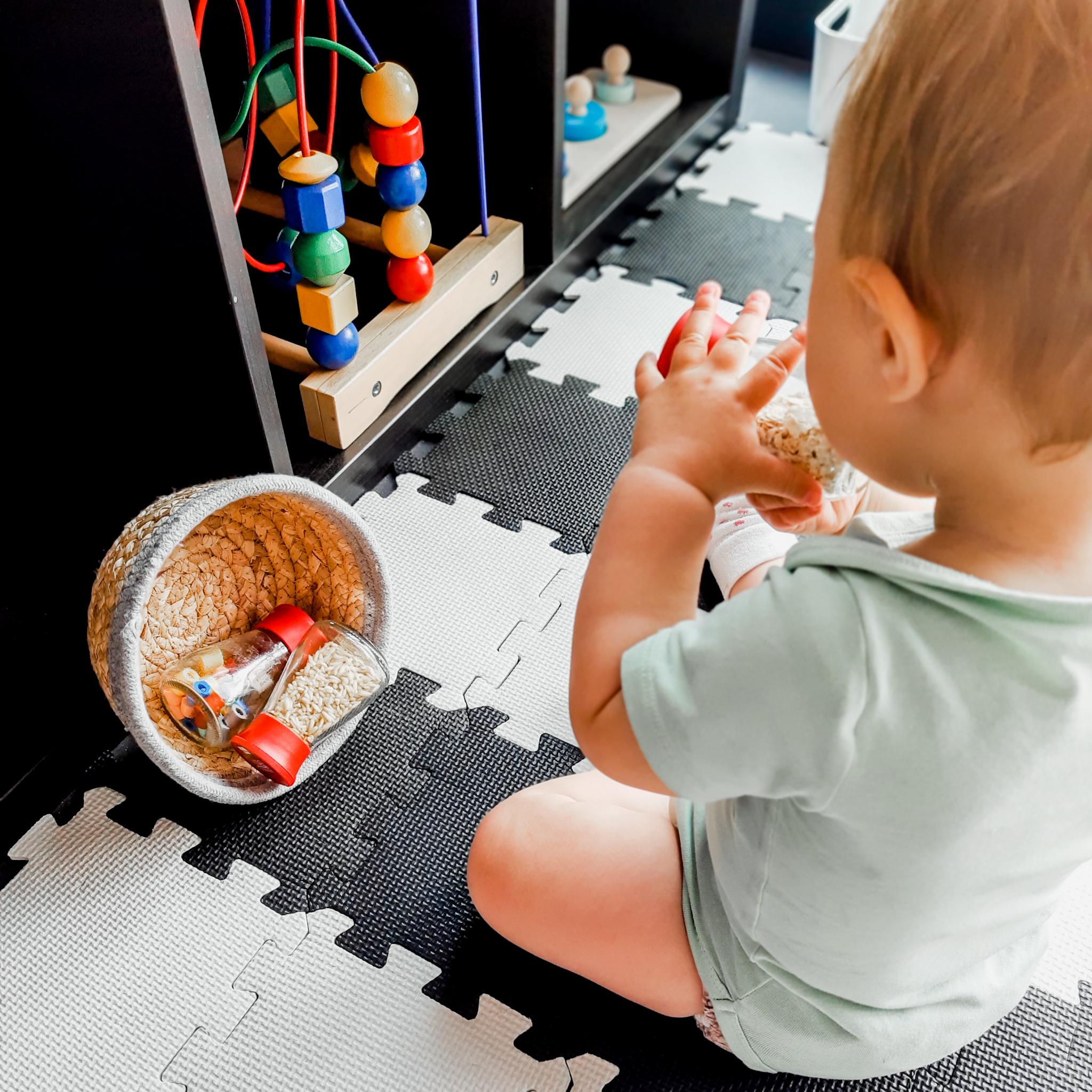 In onze speelgoedkast – baby week 39
